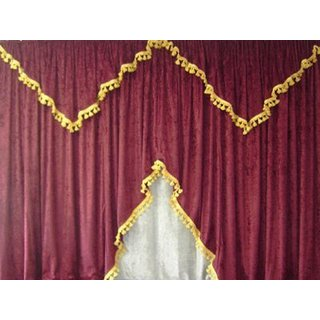 truck curtain set 08