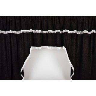 LKW-Gardinen/Vorhang-Set 03 + Frontscheibenborde Velours