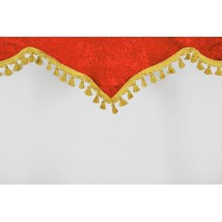 Frontscheibenborde Kaiserform aus Pannesamt