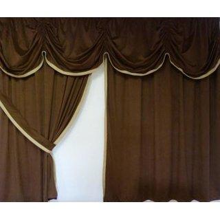 Bettgardine/Mittelvorhang 15 Alcantara Art
