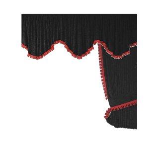 LKW-Gardinen/Vorhang-Set 14 Alcantara-Art