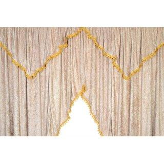 Kopie von LKW-Gardinen/Vorhang-Set 08 + Frontscheibenborde aus Pannesamt