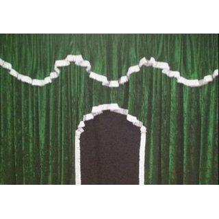 Kopie von LKW-Gardinen/Vorhang-Set 11 + Frontscheibenborde aus Pannesamt