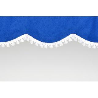 Windshield pelmet in arch shape
